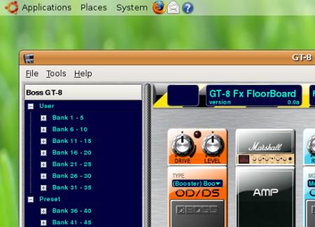GT-8 Fx Floorboard